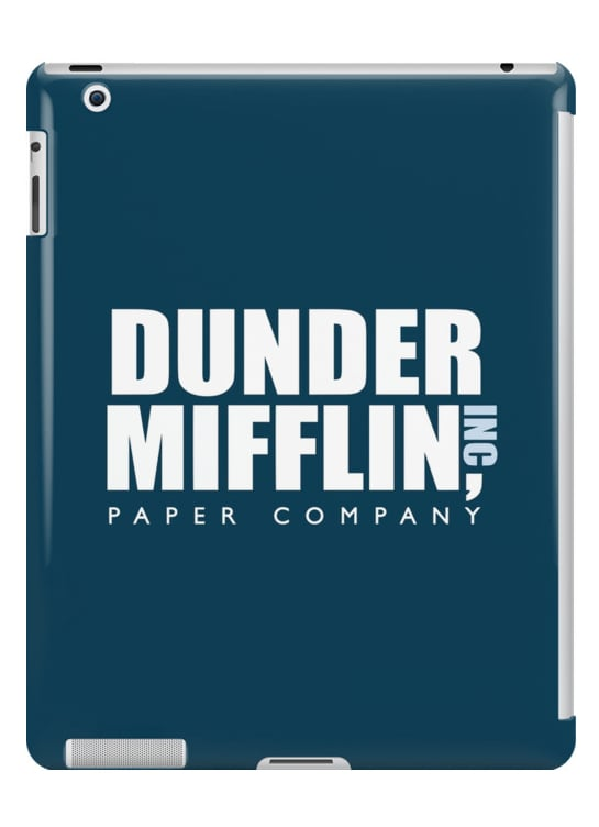 Dunder Mifflin iPad 2 Cover ($45)