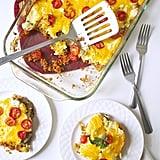 Cheesy Zucchini Tomato Casserole