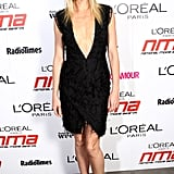 Gwyneth Paltrow Takes the Plunge in a Daring Deep V at the National Movie Awards