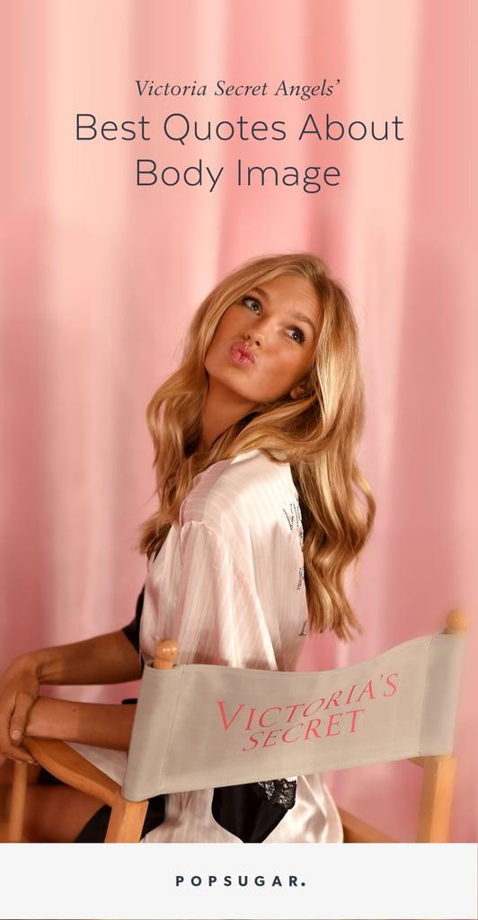Victoria's Secret Models Body-Image Quotes