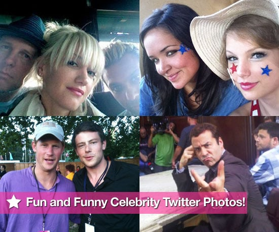 This Week's Fun and Funny Celebrity Twitter Photos! 2010-07-08 09:15:00