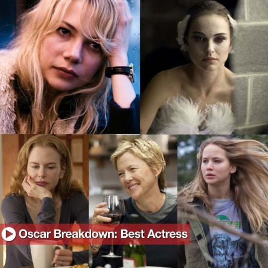 2011 Best Actress Oscar Nominee Chances