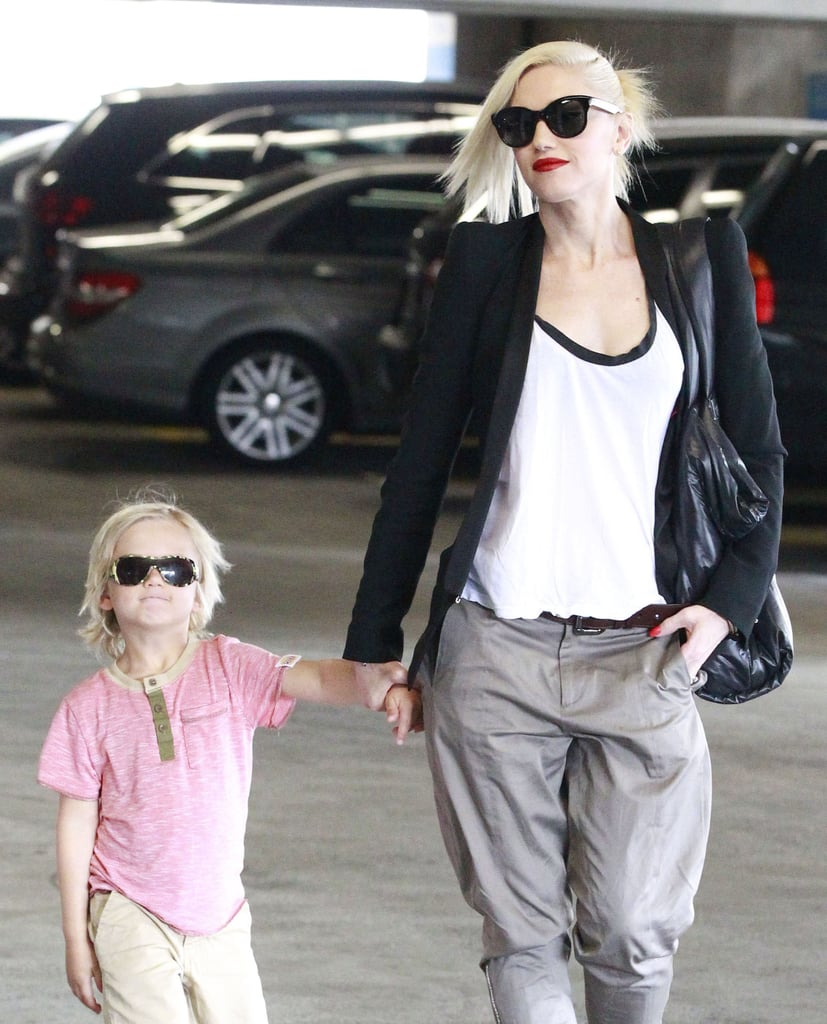 Gwen Stefani and her son Zuma rocked matching sunglasses while running errands in LA.