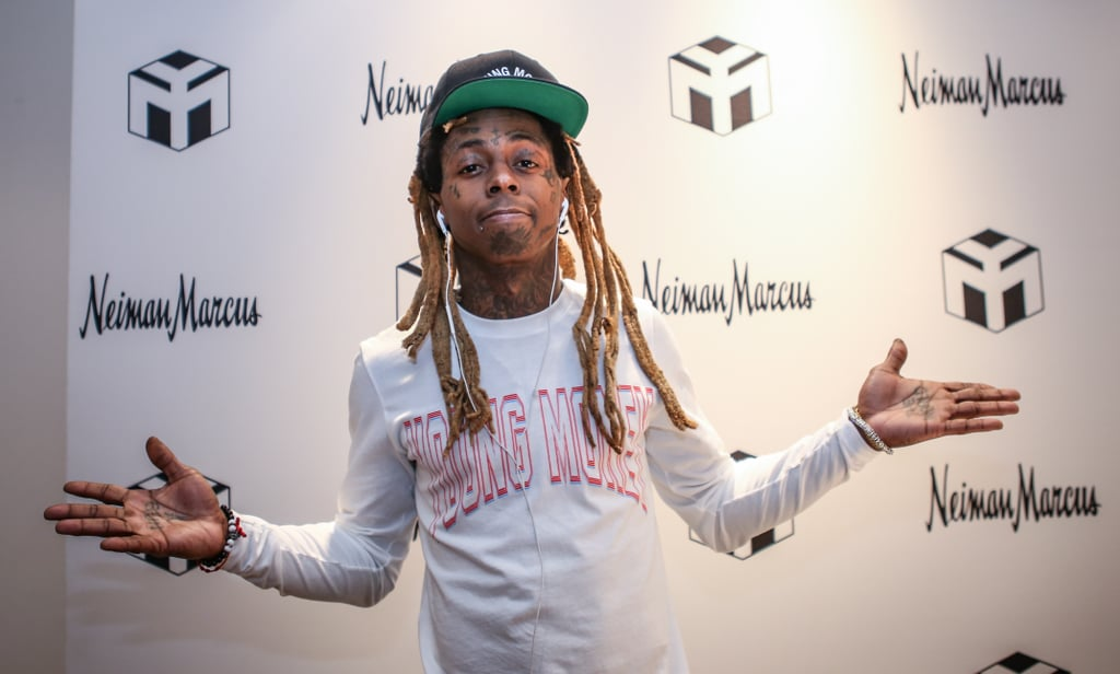 Lil Wayne Visiting With Donald Trump
