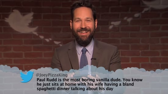 Kate Hudson, Ryan Gosling and Paul Rudd Laugh Off Jimmy Kimmel's Latest 'Mean Tweets'