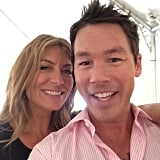 Genevieve Gorder and David Bromstad