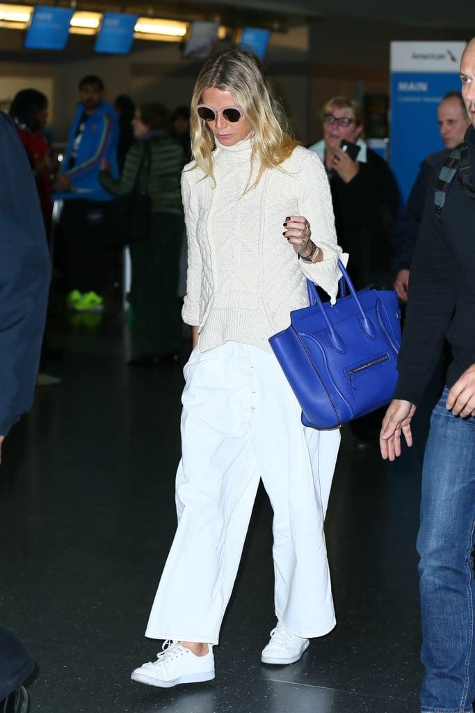39956f1a57 Gwyneth Paltrow Carrying a Céline Luggage Tote