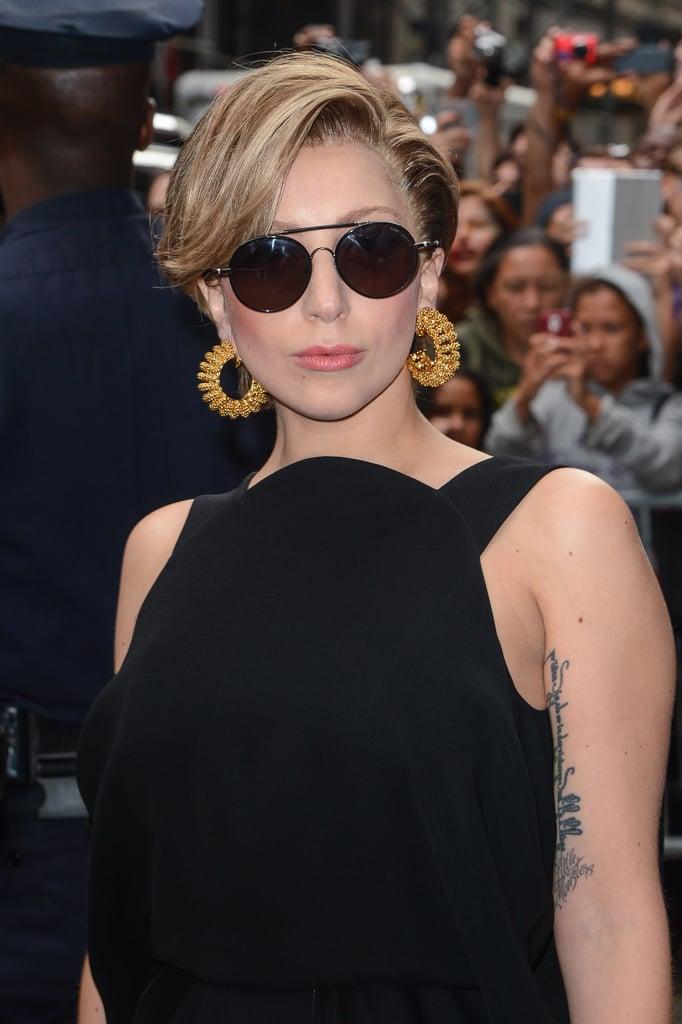 Lady Gaga S Nest Wig Moments 2013 Popsugar Beauty Australia