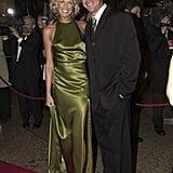 Karina Brown and Lochie Daddo, April 2000