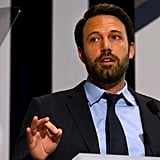 Ben Affleck spoke in Washington DC.