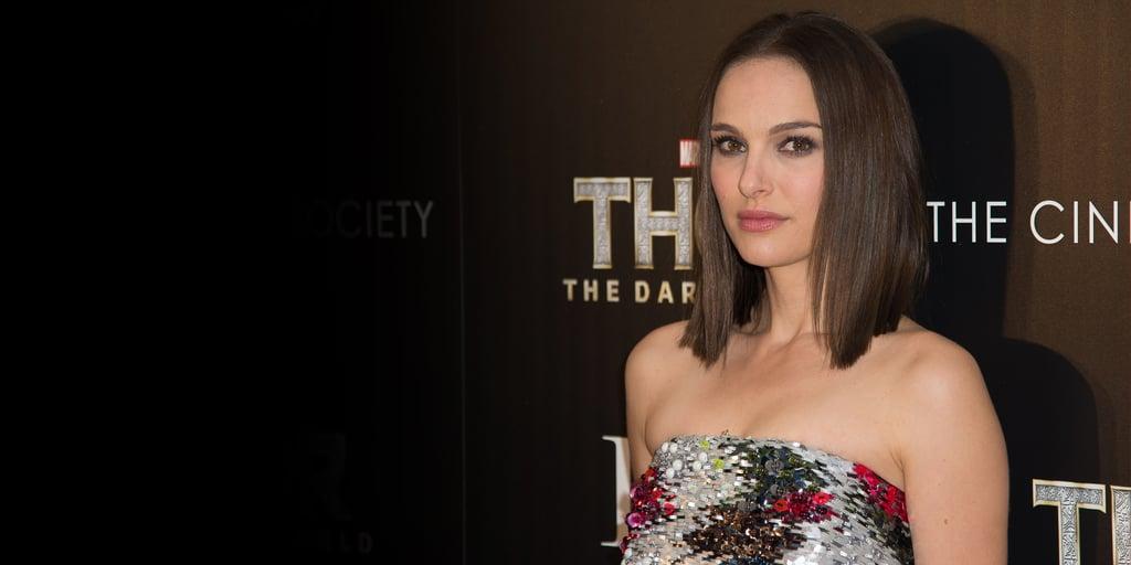 Pictures Of Natalie Portman, Thor: The Dark World Press Tour