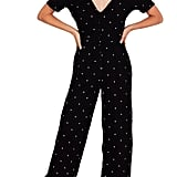 Amuse Society On the Bright Side Crop Jumpsuit