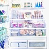 Khloé Kardashian's Organized Freezer