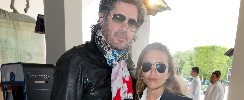 This Is How Mary-Kate Olsen Rocks a Plain White Button-Down Shirt