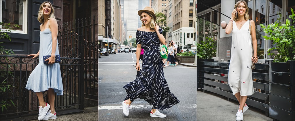 5 Foolproof Ways to Pair a Dress With Trainers