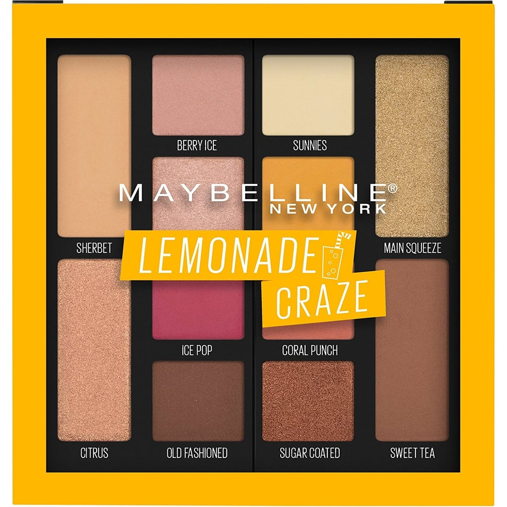 Maybelline Lemonade Palette Swatches