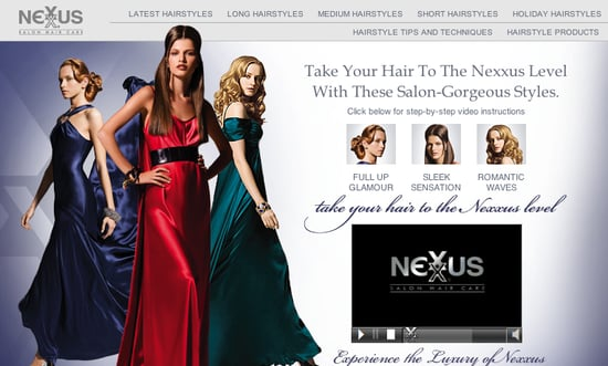 How-To: Holiday Hair From Nexxus