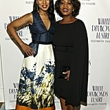 Kerry Washington dazzled with host Alfre Woodard at her Oscar's Sistahs Soiree at the Beverly Wilshire Hotel.