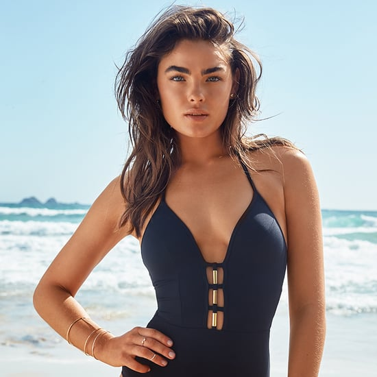 Bambi Northwood-Blyth For The Iconic Swimwear Campaign