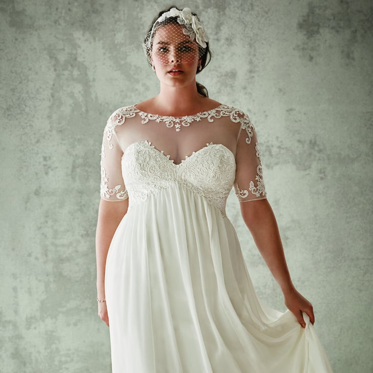 David S Bridal Plus Size Wedding Dresses Popsugar Fashion
