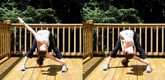 Stretch It: Windmill Spinal Twist