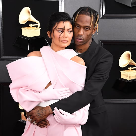 Travis Scott Covers Kylie Jenner's House in Rose Petals 2019
