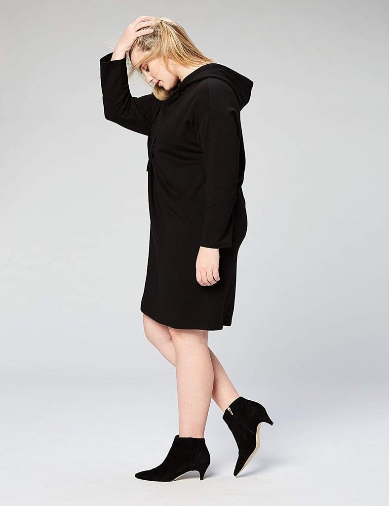 Daily Ritual Women's Terry Cotton Sweatshirt Dress