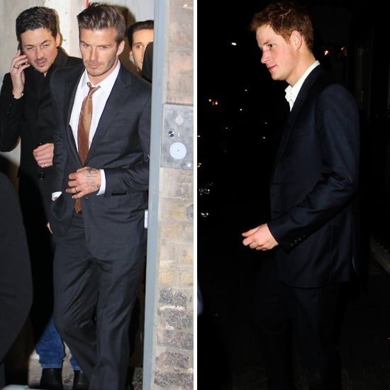 David Beckham and Prince Harry Meet Up For a Night of London Clubbing