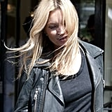 Kate Moss Hangs in London and Finalizes Her Summer Wedding Plans