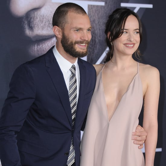 Jamie Dornan et Dakota Johnson Fifty Shades Darker Première