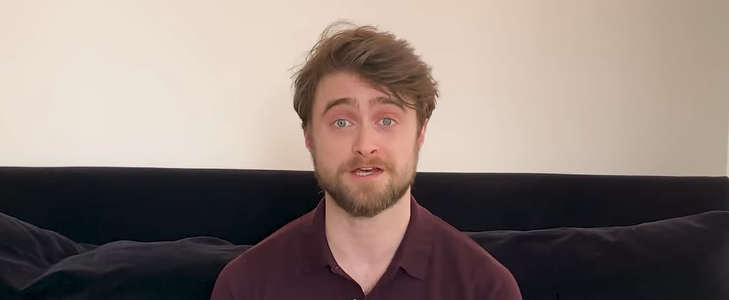 Daniel Radcliffe Starts Harry Potter at Home Video Readings