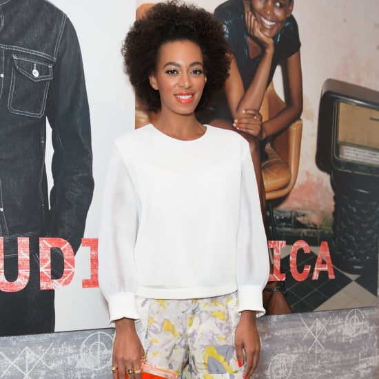 Solange Knowles at Diesel and Edun Party in LA