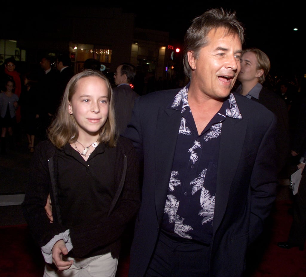 Dakota and Don Johnson