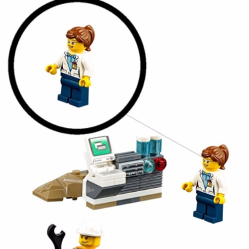 Lego Adds Female Minifigures