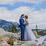 Snowy Mountain Elopement