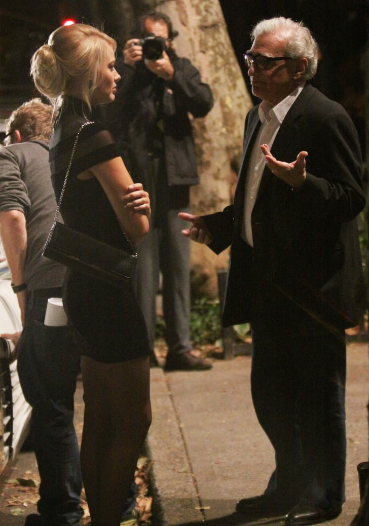 K And J Auto >> Margot Robbie, Leonardo DiCaprio And Martin Scorsese On Set Of The Wolf Of Wall Street ...