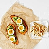 Whole30: Sweet Potato Toast With Avocado and Egg