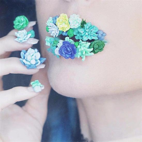 Succulent Lip Art