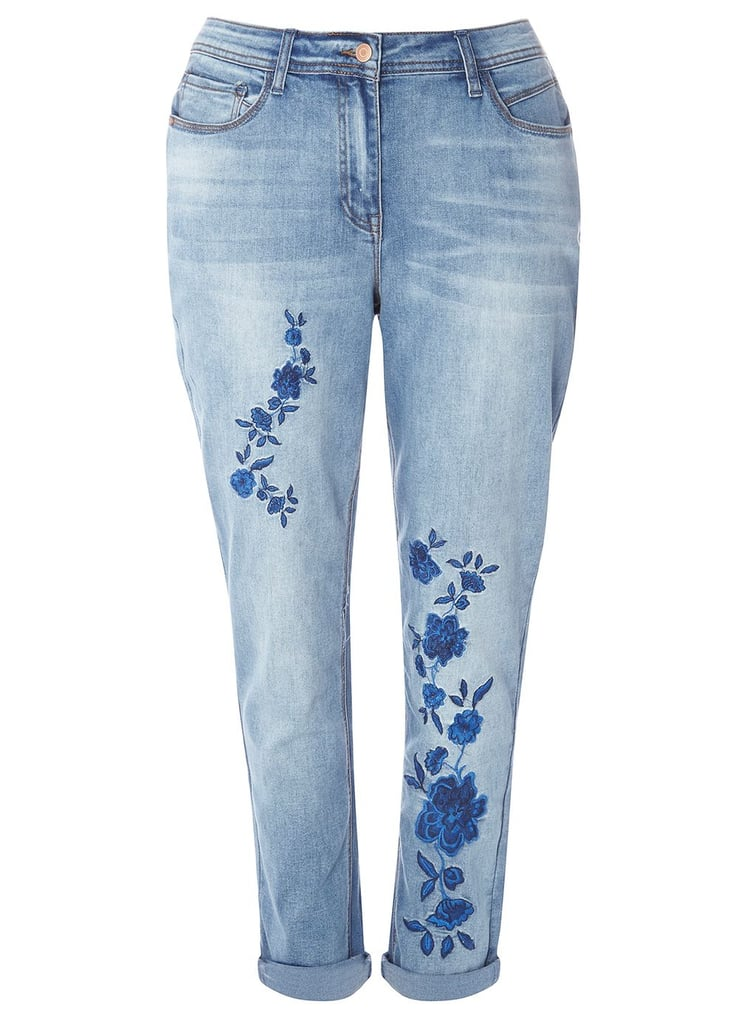 Best Embroidered Jeans  POPSUGAR Fashion