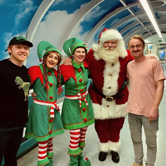 Tom Felton and Rupert Grint Visit Children's Hospital