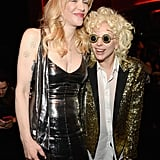 Pictured: Lady Gaga and Courtney Love