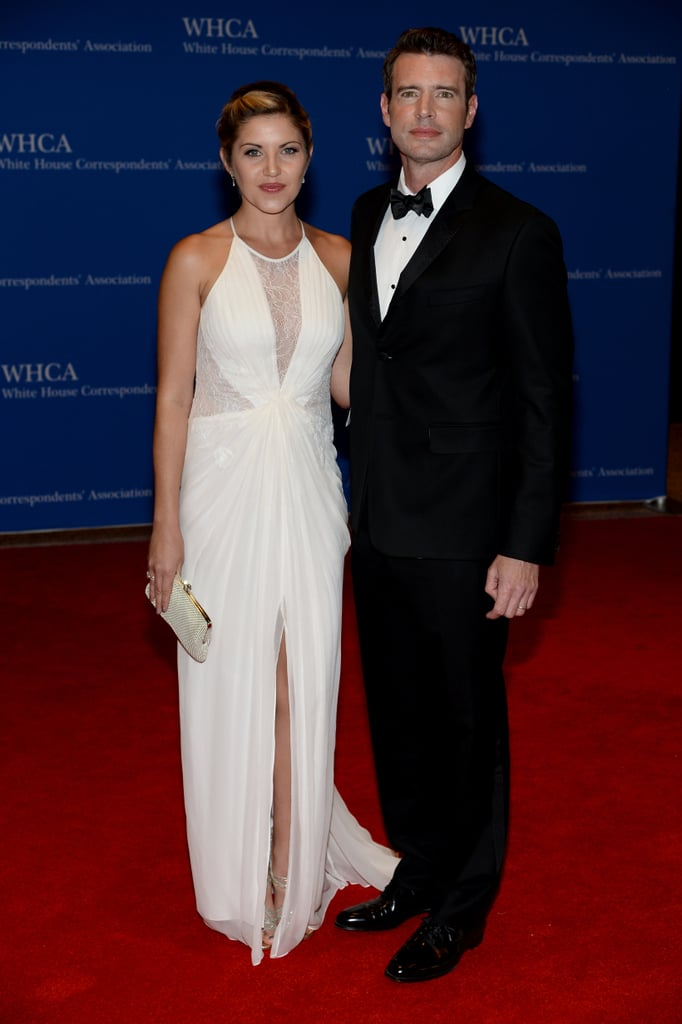 Scott Foley and Marika Dominczyk were a lovely red carpet duo.