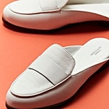 Jules Leather Loafer Mules