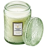 Voluspa French Cade and Lavender Glass Jar Candle