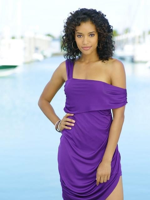 Annie Ilonzeh as Kate Prince in ABC's Charlie's Angels.