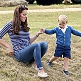 Kate Playing With George, 2015