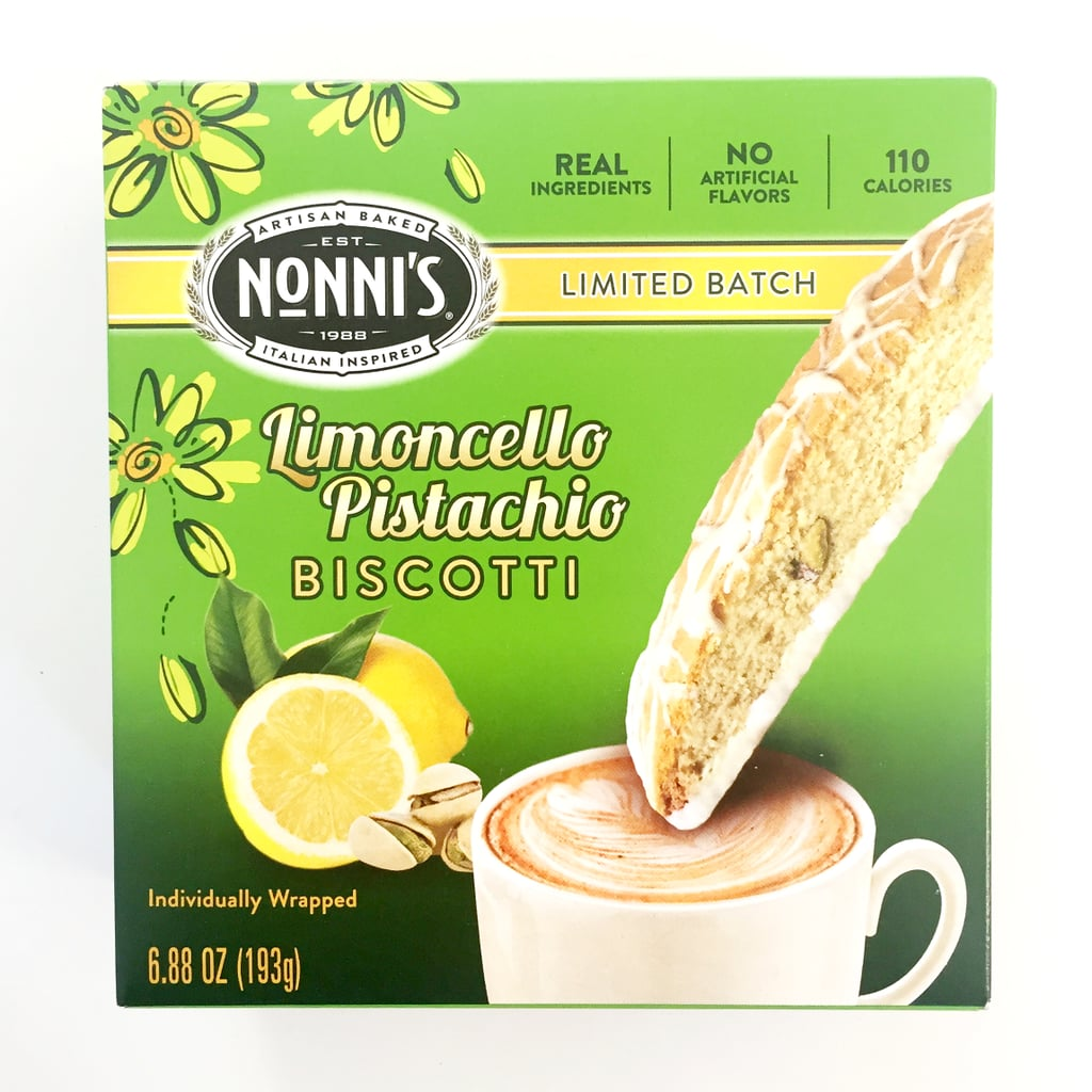 Nonni's Limoncello Pistachio Biscotti