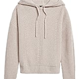Cashmere Boxy Cropped Hoodie