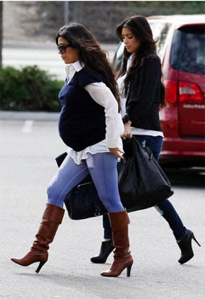 Lil Links: It's a Bumpy Road For Kourtney Kardashian