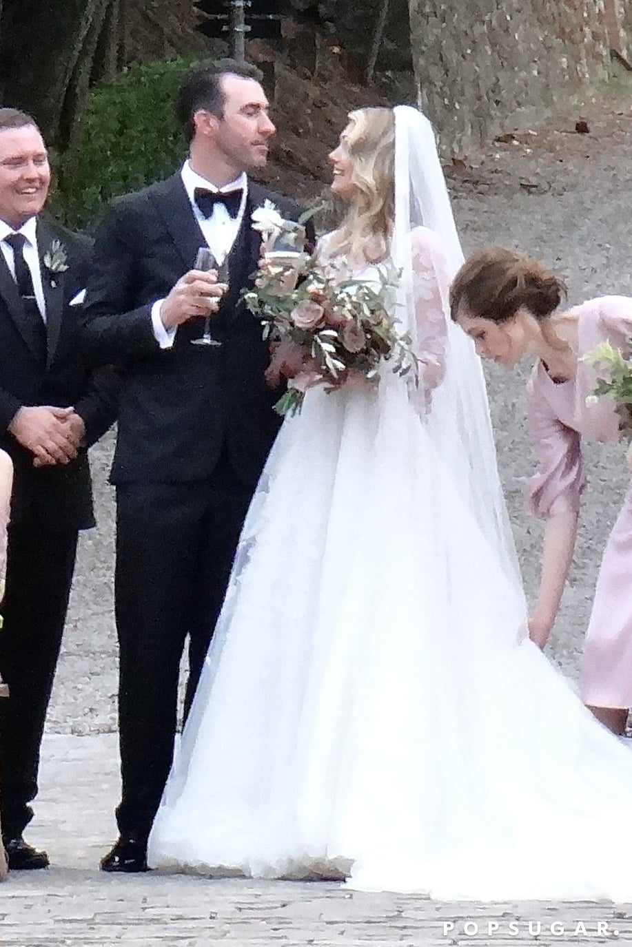 Kate Upton Wedding Dress.Kate Upton Wore A Modest Sheer Sleeved Wedding Dress By Valentino